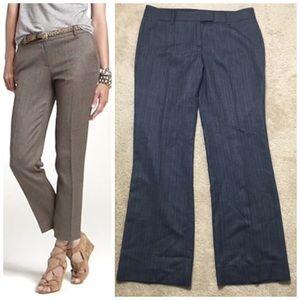 J. Crew Wool Pants Trousers Career Herringbone 8